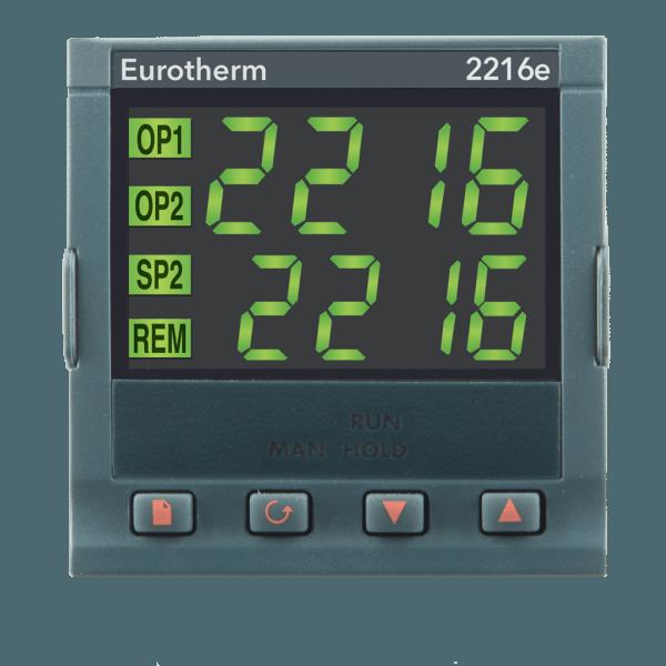 2216e 600x600 - EUROTHERM 2216e TEMPERATURE / PROCESS CONTROLLER